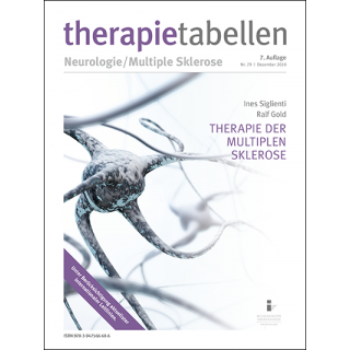 therapietabellen | Therapie der Multiplen Sklerose