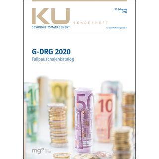 G-DRG Fallpauschalenkatalog 2020