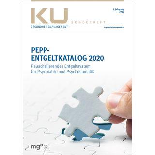 PEPP Entgeltkatalog 2020 - Pauschalierendes Entgeltsystem für Psychiatrie und Psychosomatik