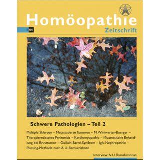 Homöopathie Zeitschrift 2004/01