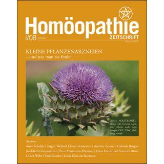 Homöopathie Zeitschrift 2008/01