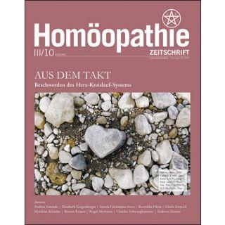 Homöopathie Zeitschrift 2010/03