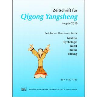 Zeitschrift für Qigong Yangsheng 2010