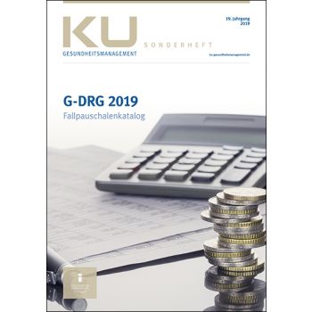 G-DRG Fallpauschalenkatalog 2019