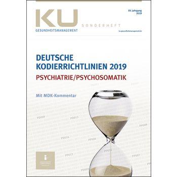 Deutsche Kodierrichtlinien für die Psychiatrie/Psychosomatik 2019 mit MDK-Kommentar