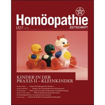Homöopathie Zeitschrift 2007/01