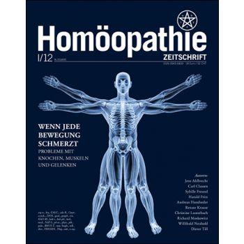Homöopathie Zeitschrift 2012/01