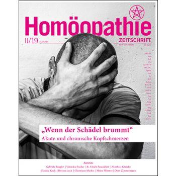Homöopathie Zeitschrift 2019/02